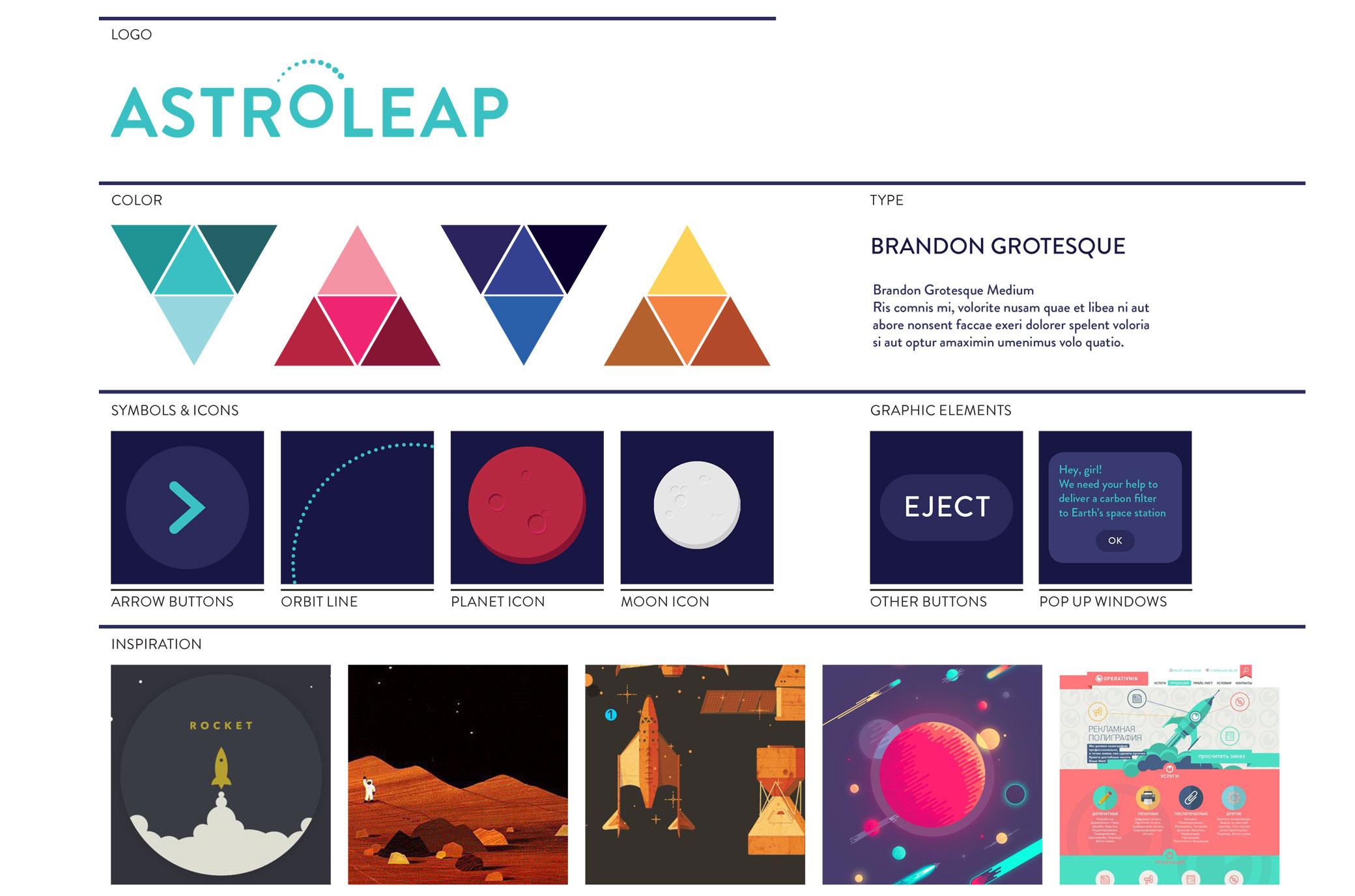 Astroleap – Anna Heatwole Designs